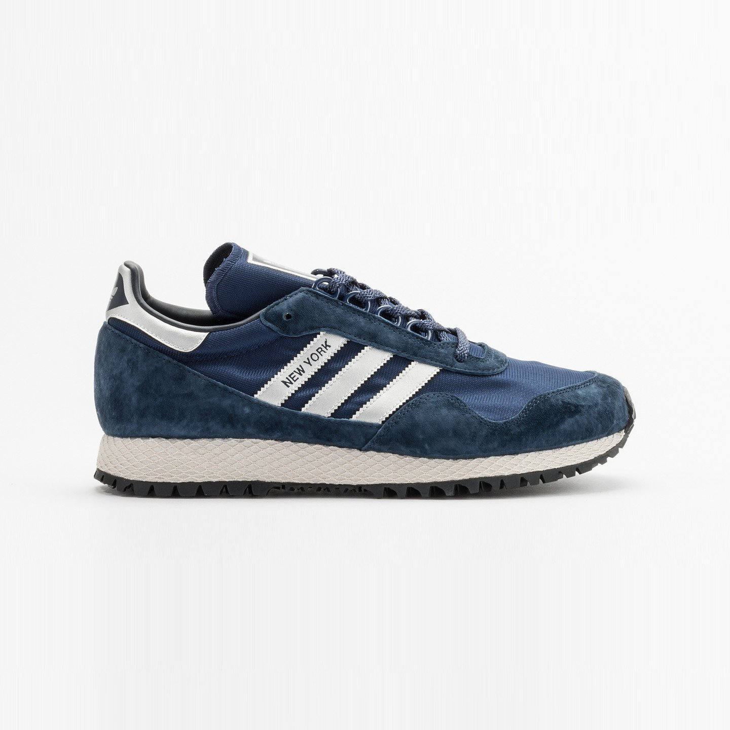 Adidas New York Collegiate Navy / Metallic Silver BB1188-43.33