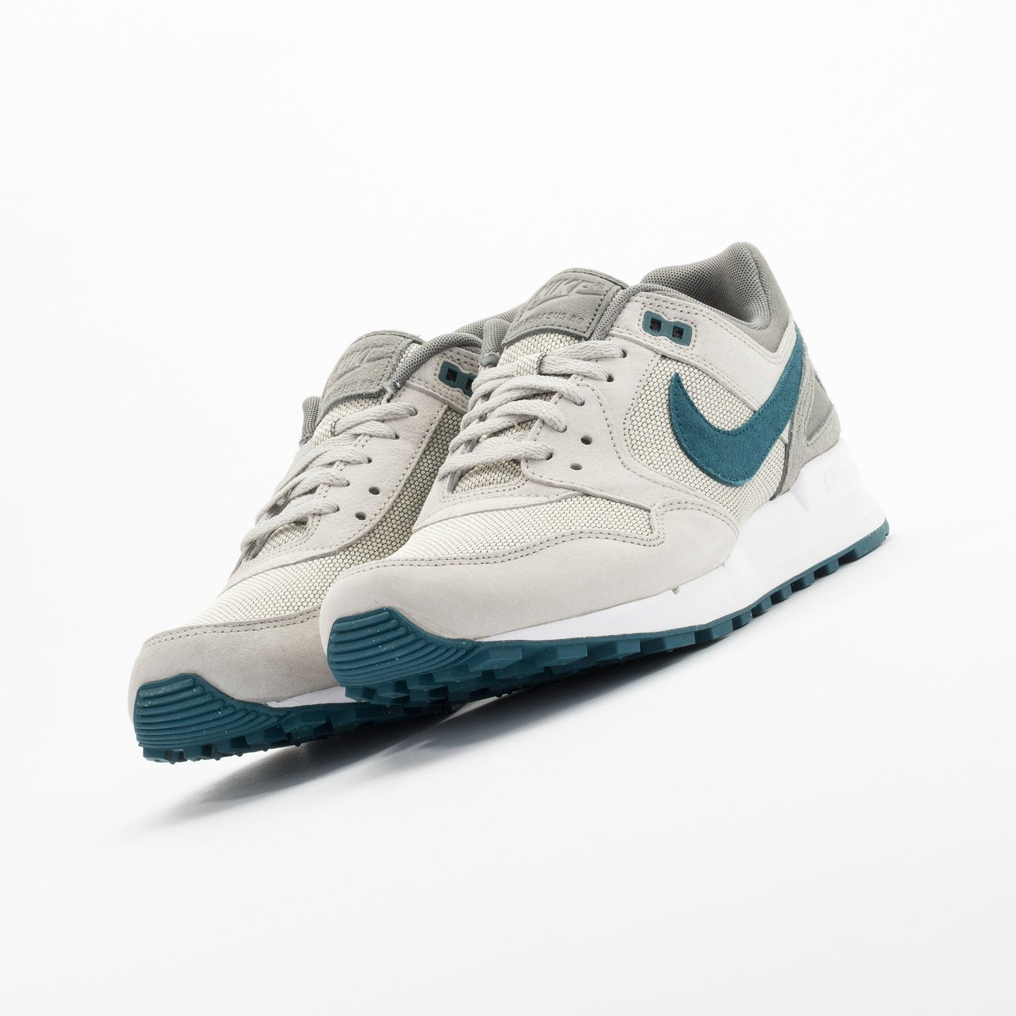 Nike Air Pegasus 89 Premium Lunar Grey / Teal - Tumbled Grey 724269-030-47.5