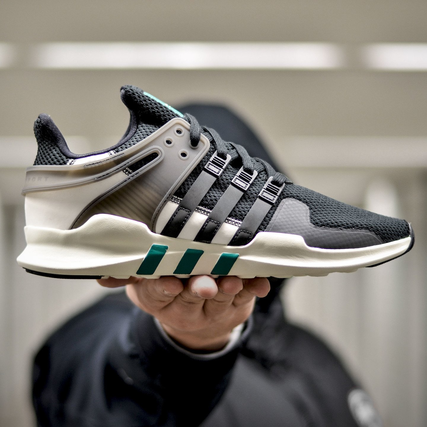 Adidas EQT Support ADV 'Reflective Pack' Core Black / Sub Green BA8321-46