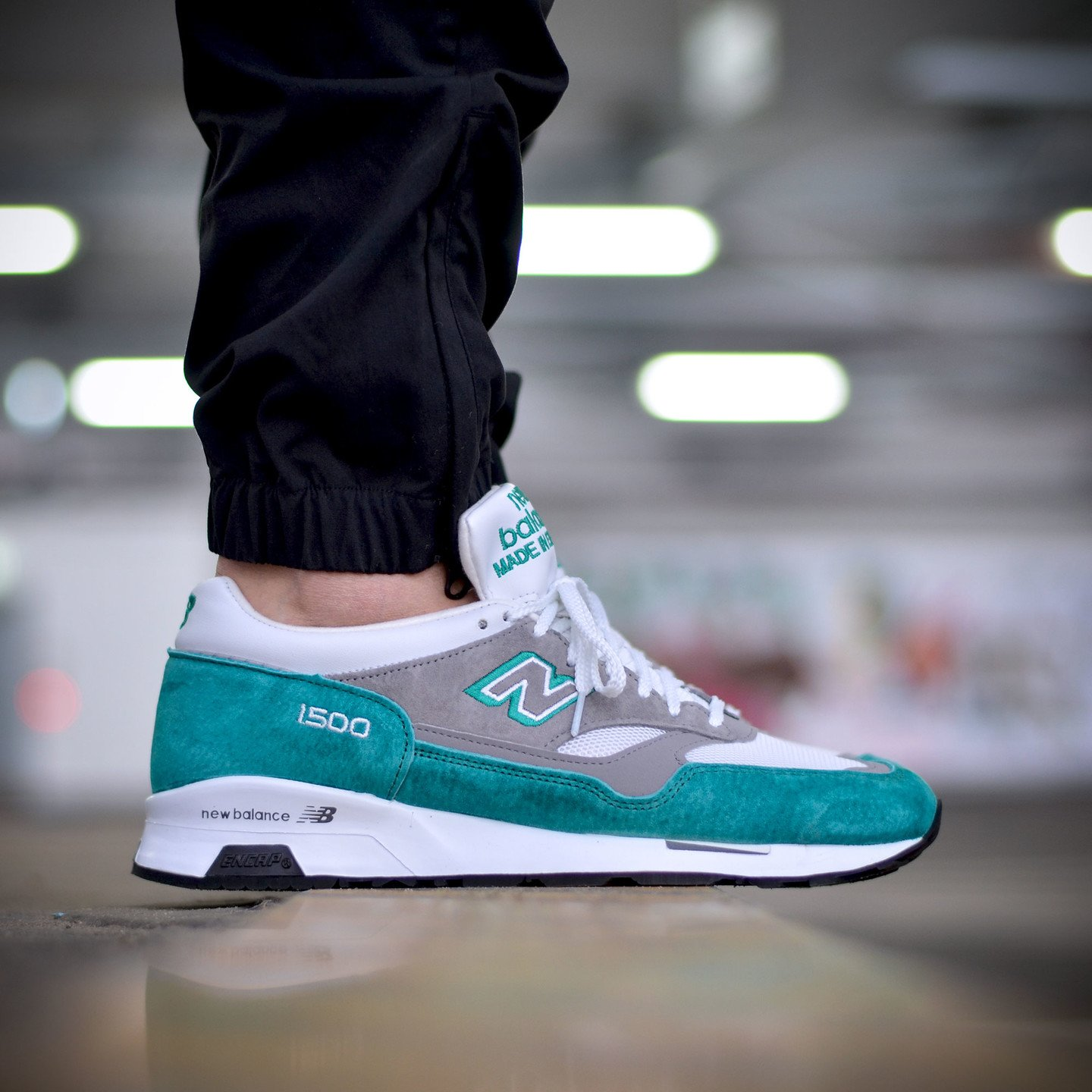 New Balance M1500 TG - Made in England Teal / Grey M1500TG-44.5