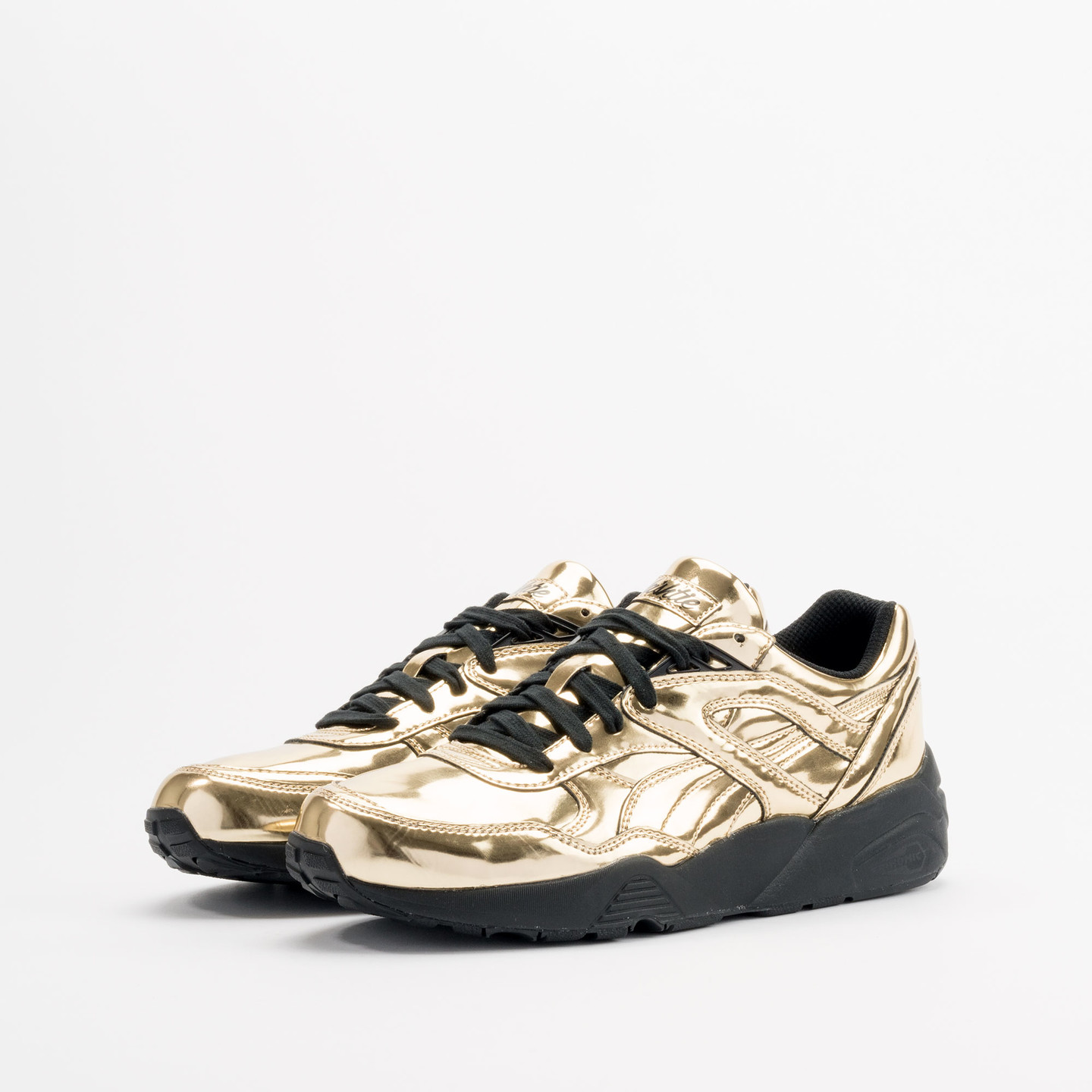 Puma R698 x Vashtie Gold Metallic Gold / Black 358838 01-42.5
