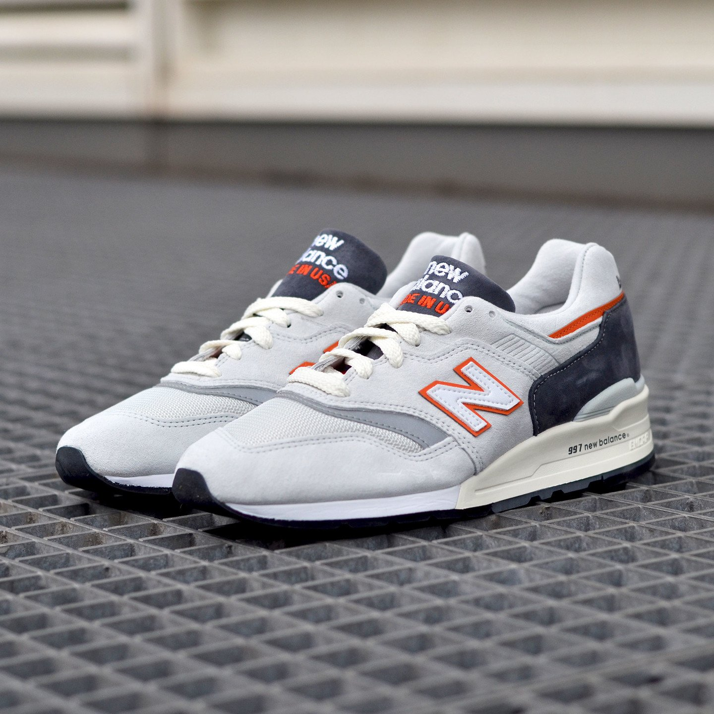 New Balance M997 Made in USA Grey / Orange M997CSEA-44