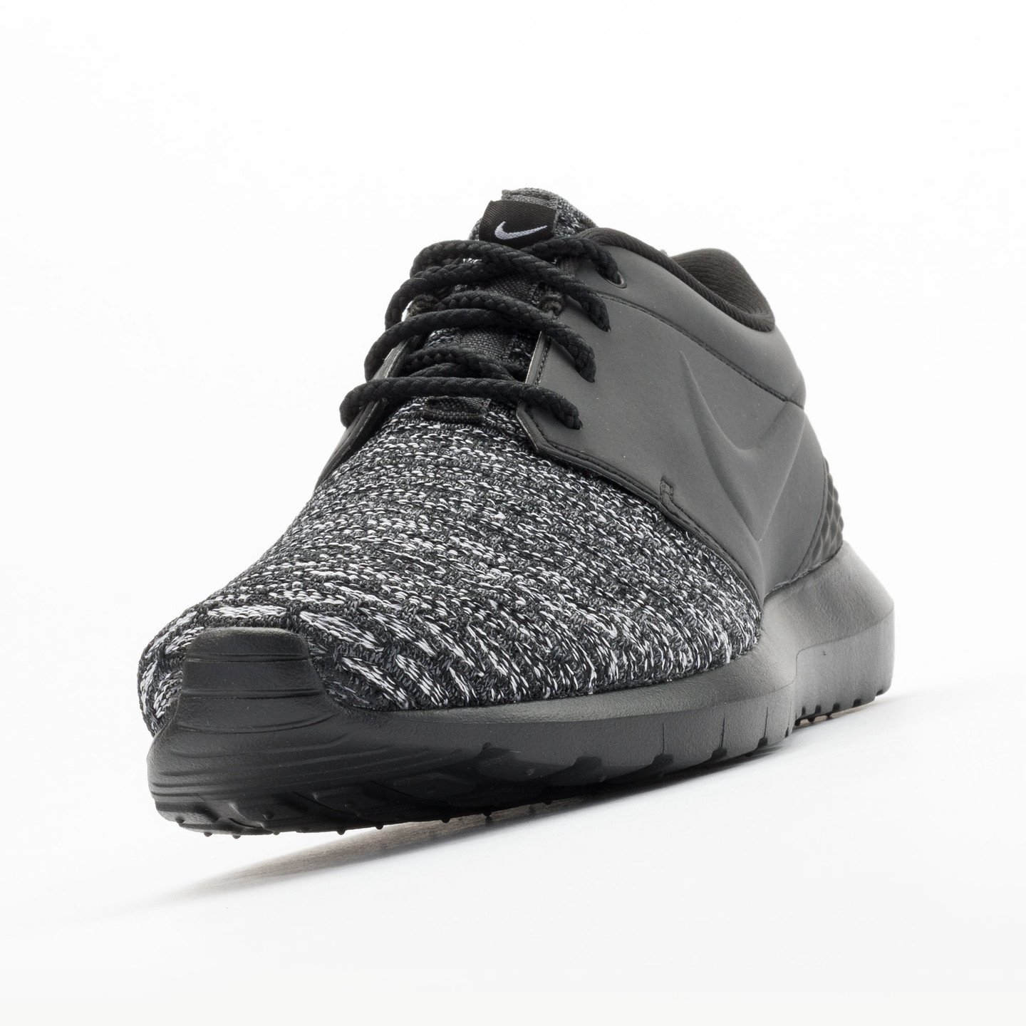 Nike Roshe NM Flyknit Premium Black / Black / Dark Grey / White 746825-002-46