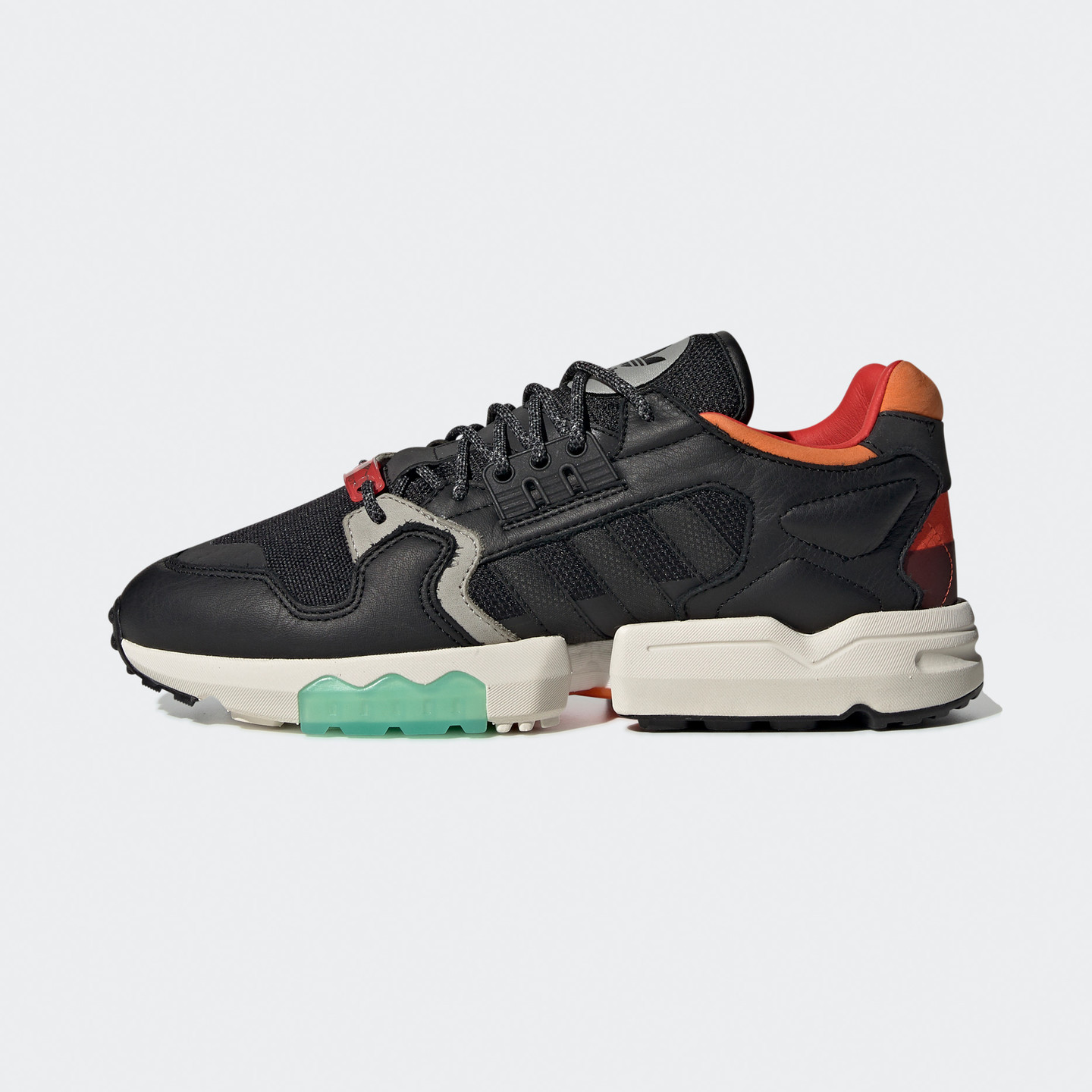 Adidas ZX Torsion Cordura Core Black / Orange / Military Green EE5553