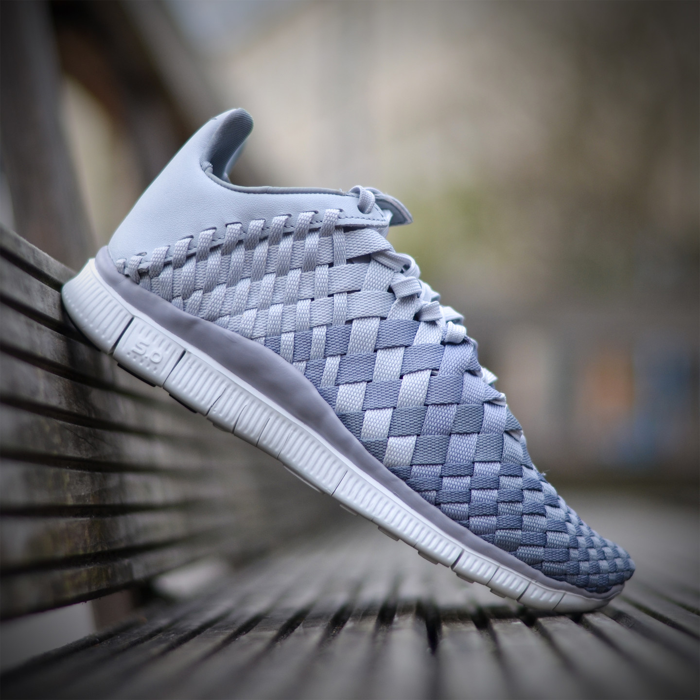Nike Wmns Free Inneva Woven Pure Platinum / Wolf Grey 833803-001-39