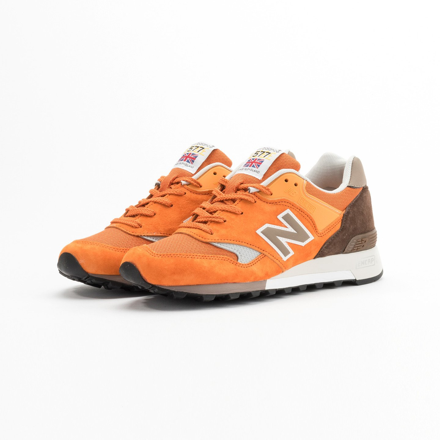 New Balance M577 ETO - Made in England Orange / Brown M577ETO-45