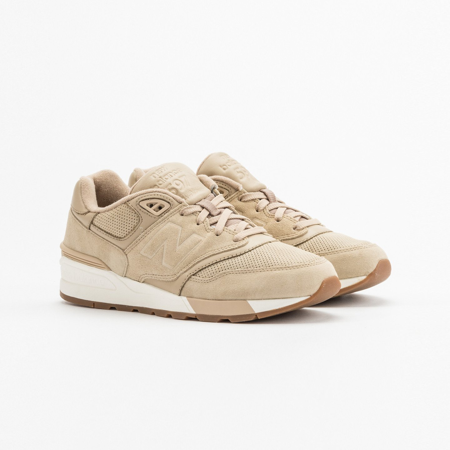 New Balance ML597 Beige / White ML597SKH