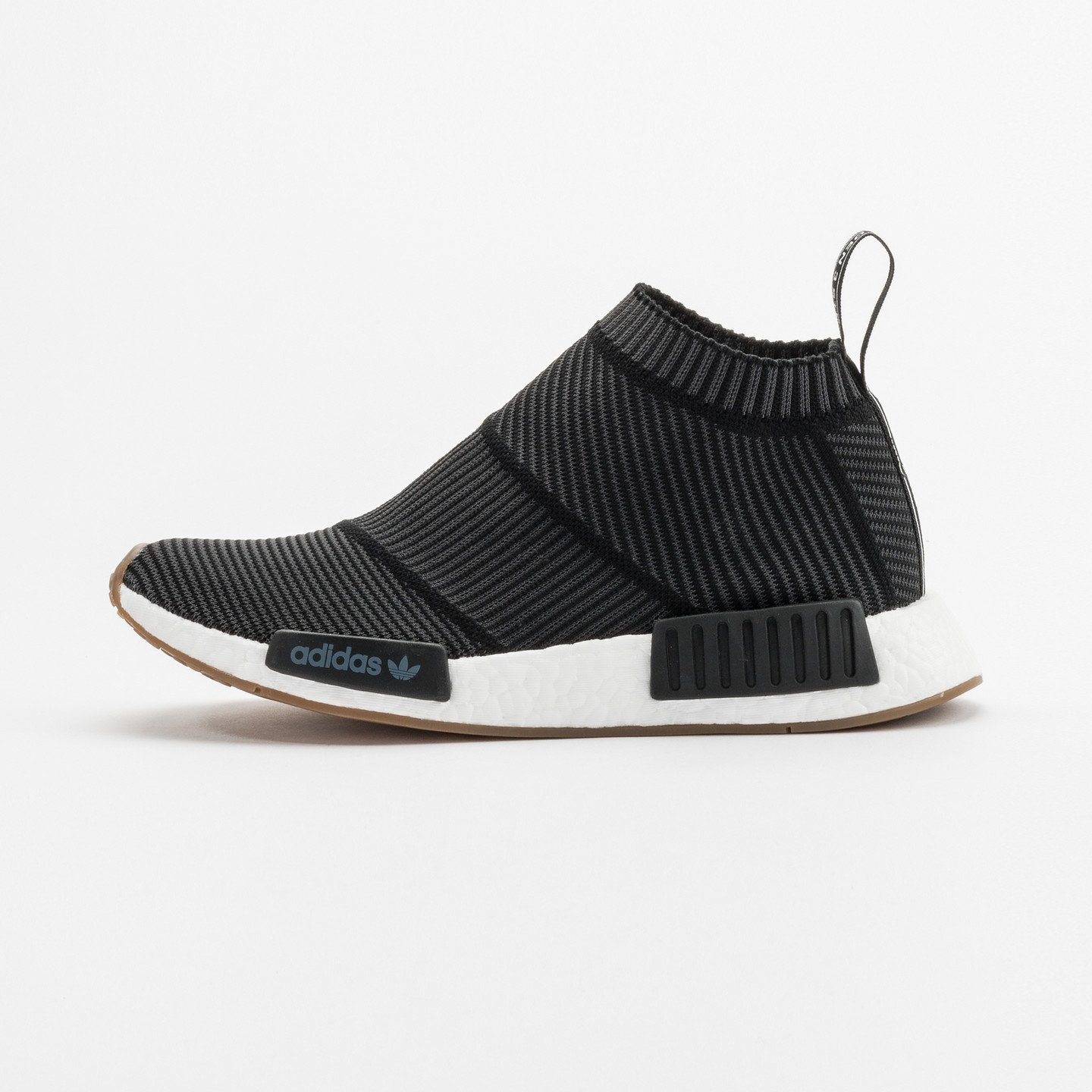 Adidas NMD CS1 City Sock Boost Primeknit Core Black / Gum BA7209-44.66
