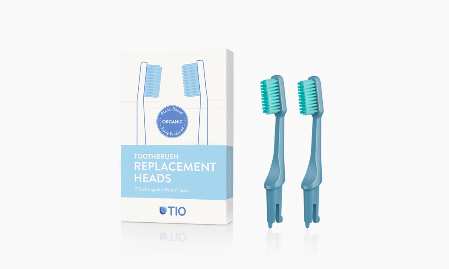 TIO Replaceable heads | TIO Replaceable heads (double pack) | Artikelnummer: 02-01E