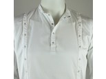 Shirt 3 Plackets White