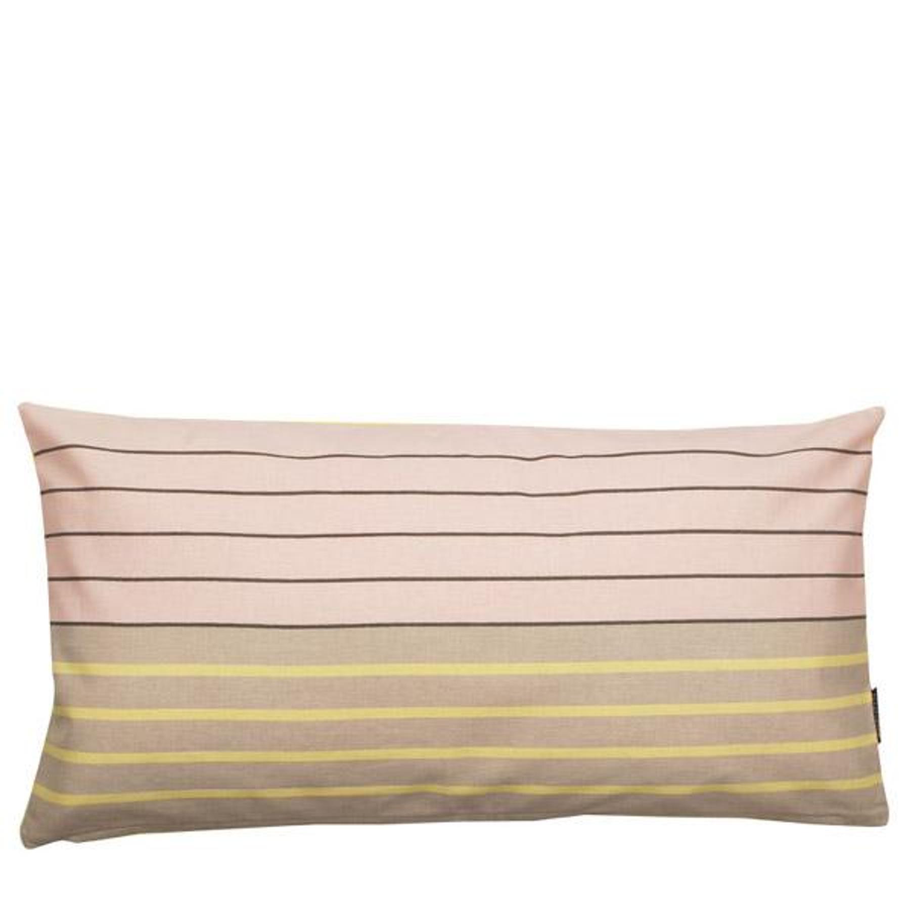Aspegren Kissen Design Stripes Rose Schönes Sofakissen Aus