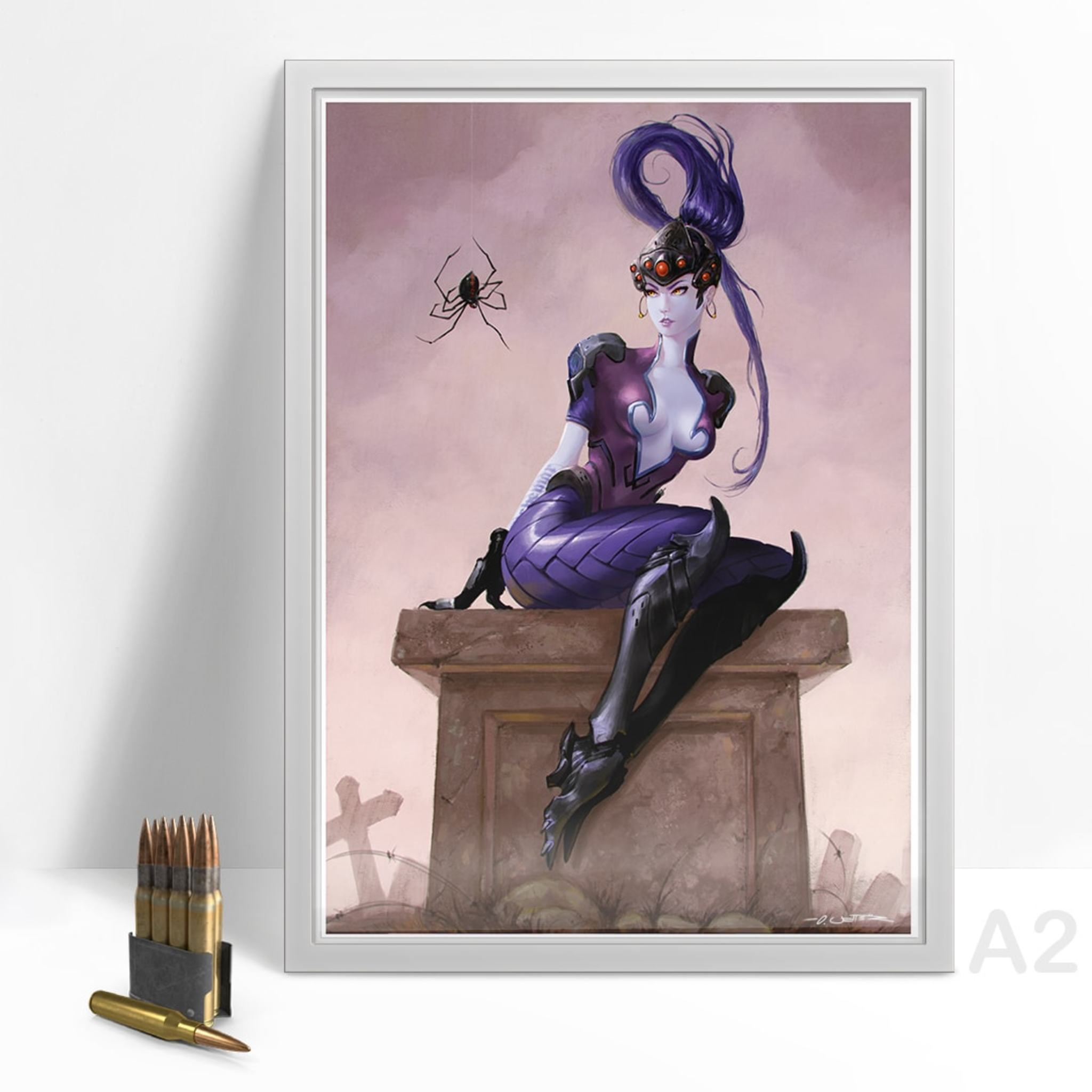Widowmaker Print-A2 gerahmt
