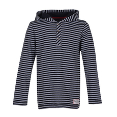 Stripe Longsleeve Hooded