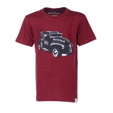 Tow Truck T-Shirt (brick red slub)