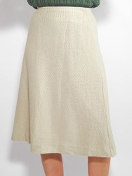 High-Waist Rock Beige