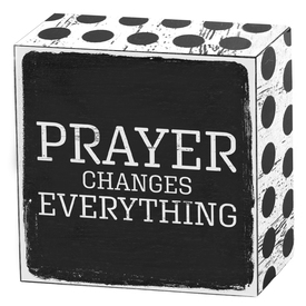 Prayer changes everything | Art Box | Artikelnummer: 50-18-016