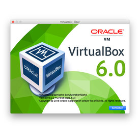 Virtualbox Player | Version 5.1.6 oder höher incl. Extensionspack | Artikelnummer: 00002