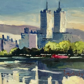 Central Park reflections | 13 x 13 cm | Artikelnummer: BROAN2