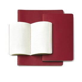 Moleskine Cahier Rot / Red | Pocket Blanko / Plain | Artikelnummer: 930970-pocket-blanko