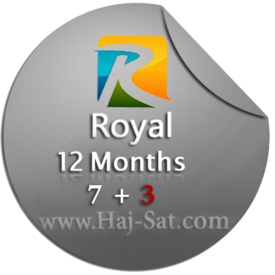 Royal IPTV Subscription 12 Months x 7+3 Free  |  | Artikelnummer: RA10X12M