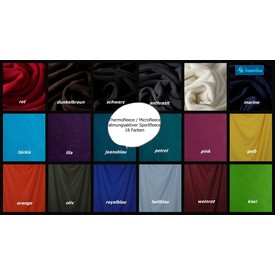 Fleece / Microfleece / Thermofleece, anthrazit  | 100 % Polyester ; ca. 1,55 m breit | Artikelnummer: 076783-000789