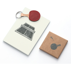 Ping Pong Schlüsselanhänger / Table tennis keychain | Ohne Ball / Without ball | Artikelnummer: pong
