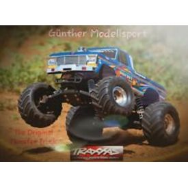 TRAXXAS 36034-1 BIGFOOT NO1 BLUEX RTR +12V-LADER+AKKU 1/10 2WD MONSTER TRUCK BRUSHED |  | Artikelnummer: TRX36034-1blue