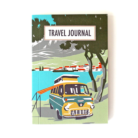 Reisetagebuch von sukie / Travel journal | Blauer Van / Blue van | Artikelnummer: van_022