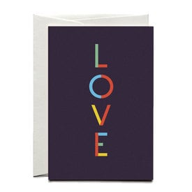 LOVE – Liebesgrüße / LOVE Letters Card | Offsetprint | Artikelnummer: HS_love