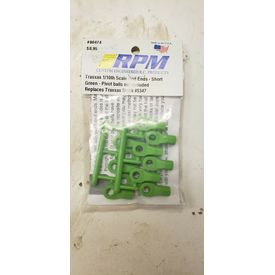 RPM 80474 Traxxas Short Rod Ends - Green |  | Artikelnummer: RPM80474