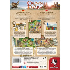 Crown of Emara | Pegasus Spiele | Artikelnummer: 4250231716577