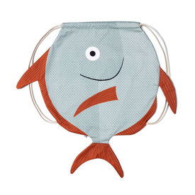 Mondfisch Rucksack / Opah Fish Backpack | wasserfester Zugbeutel / waterproof backpack | Artikelnummer: donfisher_opah