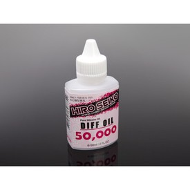 Hiro Seiko R/C Toy Accessories Diff Oil  (#50,000 cps) 60ml |  | Artikelnummer: HS-69775