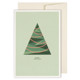 Merry Christmas Karte grüner Baum | Merry Christmas Card Green Tree | Artikelnummer: HS_gruenerbaum