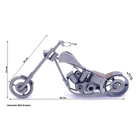Metall-ART Design Motorrad Custombike |  | Artikelnummer: ma2013