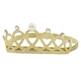 Elastisches Haarband Krone, gold | Fairtrade | Artikelnummer: 5257212017769