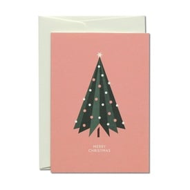 Schmucker Baum Weihnachtskarte / Pretty Tree Christmas Card | Offsetdruck / Offset print | Artikelnummer: HS_prettytree