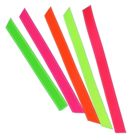 Neon Satinband 6mm / Fluo Satin Ribbon 6mm | 3 meter Neon Grün / Fluo Green | Artikelnummer: 740.6mm.gruen.3