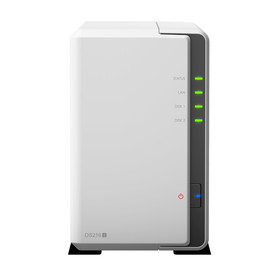 Synology DS216j incl. 12TB (2 x 6TB) WD RED NAS RAID Server Bundle | ab Lager lieferbar! | Artikelnummer: Synology DS216j 2-Bay 12TB