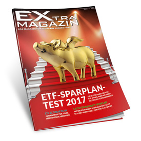 ETF-Sparplan-Test 2017 | EXtra-Magazin (ETF) - Ausgabe April 2017 | Artikelnummer: 201704