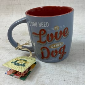 Tasse | All you need is love and a dog | Artikelnummer: 7273-5274-0383