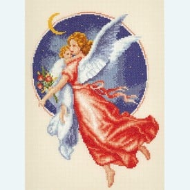 Angel by Edgar Jerins - borduurpakket met telpatroon Vervaco |  | Artikelnummer: vvc-29026