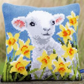 Lamb - Vervaco Kruissteekkussen |  | Artikelnummer: vvc-148423