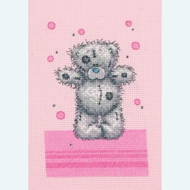 Dotty Day Love - Me to You - Tatty Teddy borduurpakket met telpatroon - Coats Crafts |  | Artikelnummer: cts-tt209
