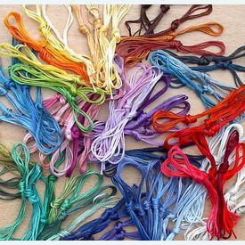 Assortiment splitkatoen - 100 draden in verschillende kleuren |  | Artikelnummer: nra-518