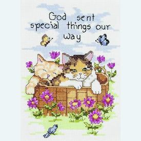 Special Things - borduurpakket met telpatroon Janlynn |  | Artikelnummer: jl-090.0060