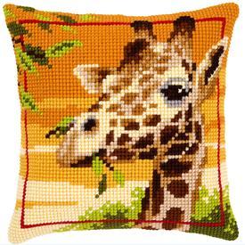 Giraffe - Vervaco Kruissteekkussen |  | Artikelnummer: vvc-145345
