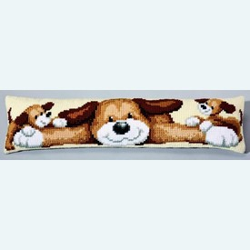 Dogs - Vervaco tochthond - kruissteekpakket |  | Artikelnummer: vvc-5004