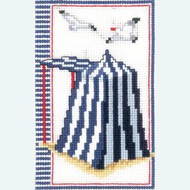 Cabana - kruissteekpakket met telpatroon Vervaco |  | Artikelnummer: vvc-144660