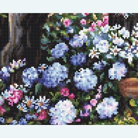 Wonderland Garden - borduurpakket met telpatroon Letistitch |  | Artikelnummer: leti-982